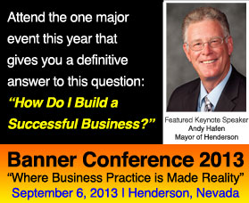 banner conference 2013