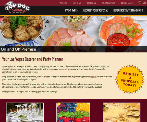 Top Dog Catering Screenshot