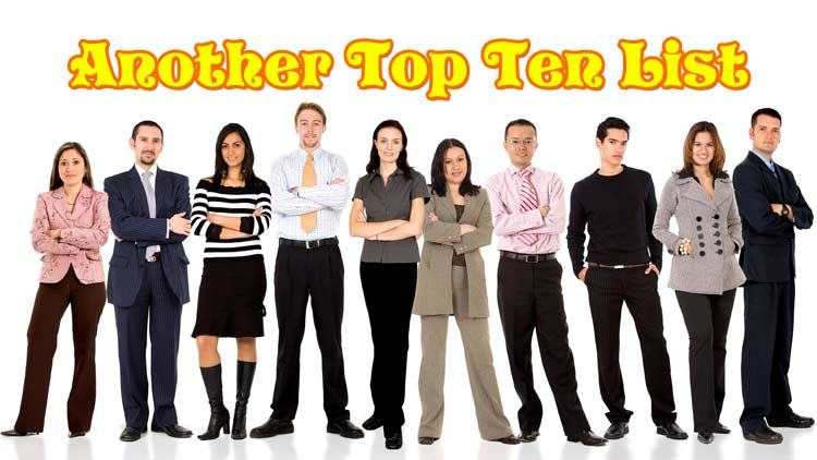 top ten business statistics
